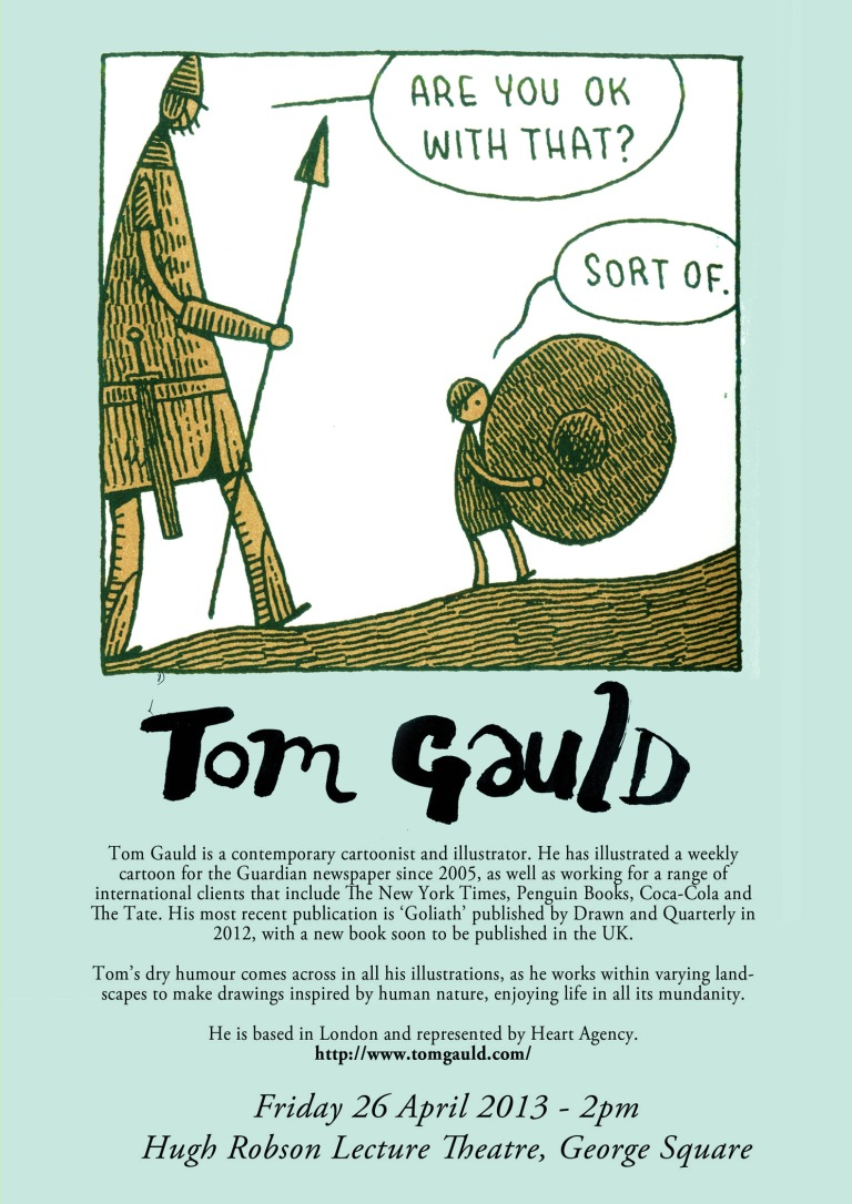 Tom Gauld Lecture