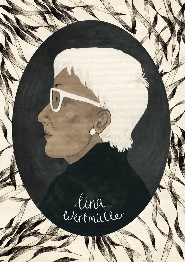 Lina Wertmuller by Sophie Powell-Hall