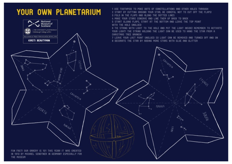 Make Your Own Planetarium by Kirsti Beatyman