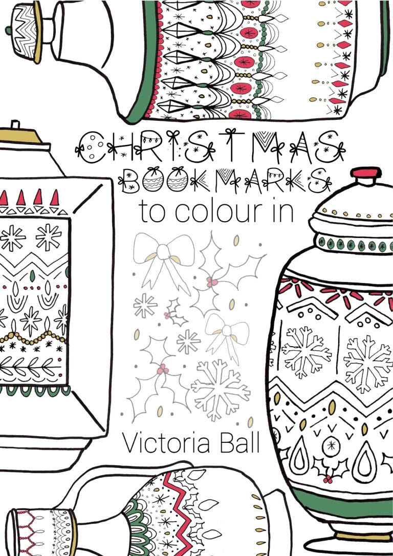 Make Your Own Christmas Bookmark by Victoria Ball