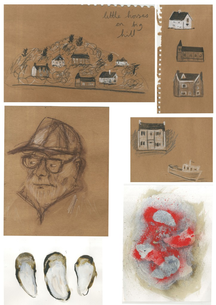 oban sketchbooks