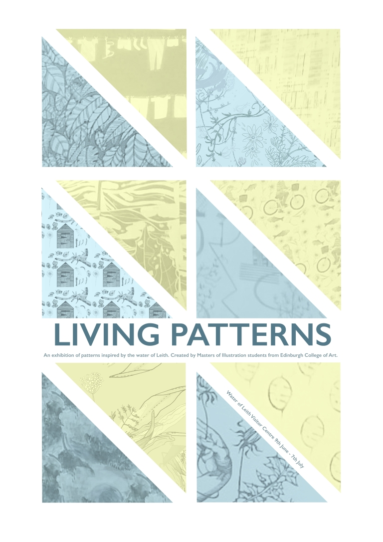 Exhibition Poster - Living Patterns