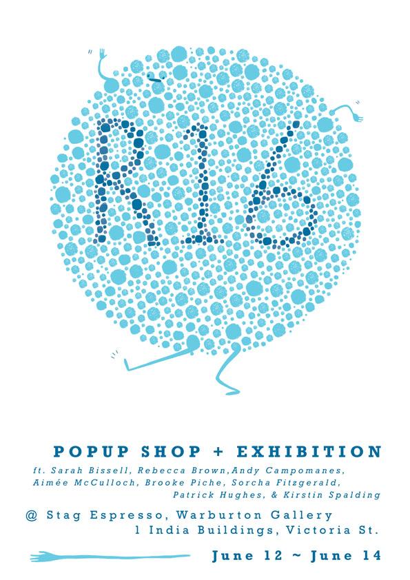 R16 pop up shop poster