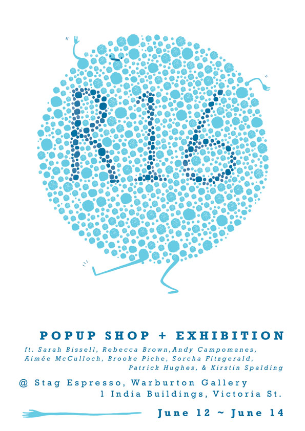 R16 pop up shop poster