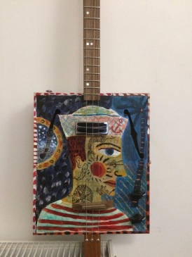 Jonny Hannah's 3 String Guitar