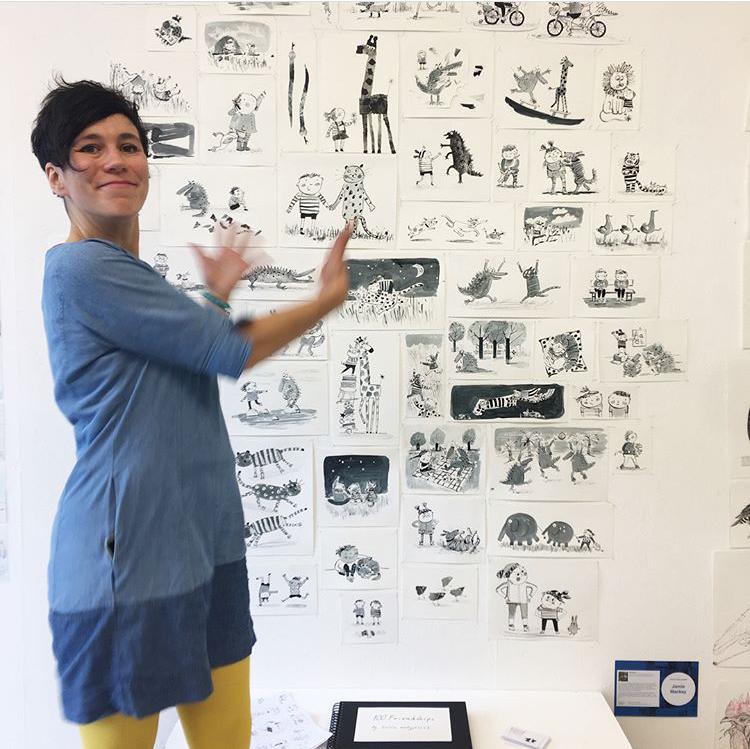 Kasia Matyjaszek's Illustrated Friendships